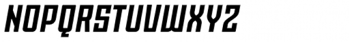 Moho OT Bold Italic Font UPPERCASE