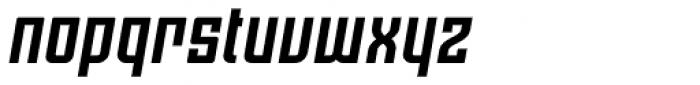 Moho OT Bold Italic Font LOWERCASE