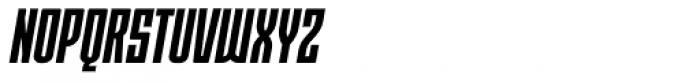 Moho OT Condensed Bold Italic Font UPPERCASE