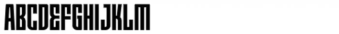 Moho OT Condensed Bold Font UPPERCASE