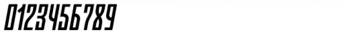 Moho OT Condensed Medium Italic Font OTHER CHARS
