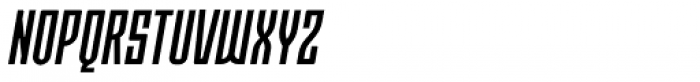 Moho OT Condensed Medium Italic Font UPPERCASE