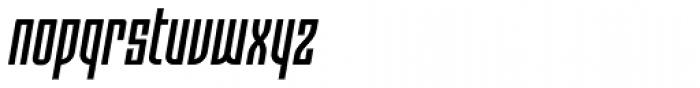 Moho OT Condensed Medium Italic Font LOWERCASE