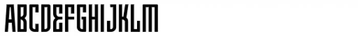 Moho OT Condensed Medium Font UPPERCASE