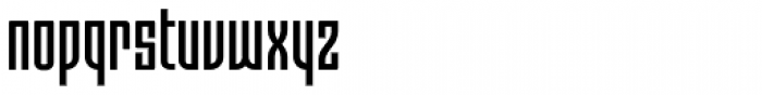 Moho OT Condensed Medium Font LOWERCASE