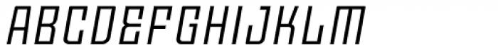 Moho OT Italic Font UPPERCASE