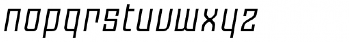 Moho OT Italic Font LOWERCASE