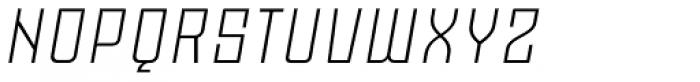 Moho OT Light Italic Font UPPERCASE