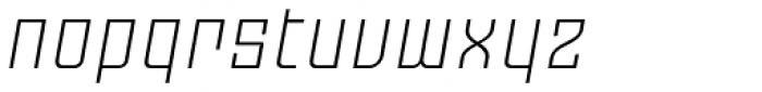 Moho OT Light Italic Font LOWERCASE