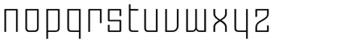 Moho OT Light Font LOWERCASE