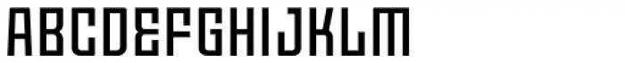 Moho OT Medium Font UPPERCASE