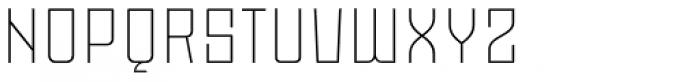 Moho OT Ultra Light Font UPPERCASE