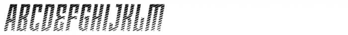Moho Shade Pro Italic Font UPPERCASE
