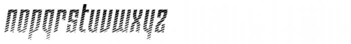 Moho Shade Pro Italic Font LOWERCASE
