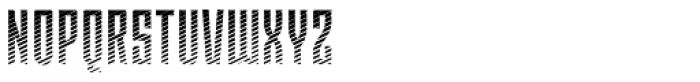 Moho Shade Pro Font UPPERCASE