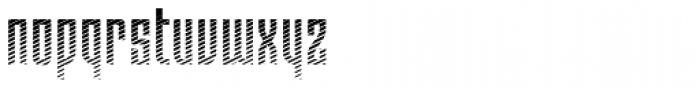 Moho Shade Pro Font LOWERCASE