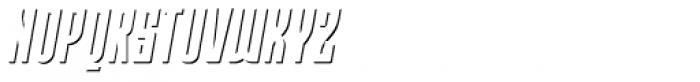 Moho Shadow Pro Italic Font UPPERCASE