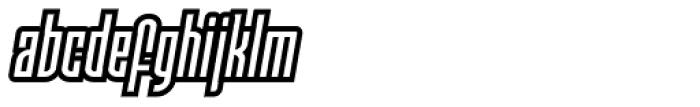 Moho Sport Pro Font LOWERCASE
