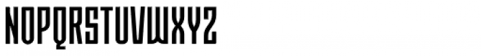 Moho Std Condensed Medium Font UPPERCASE