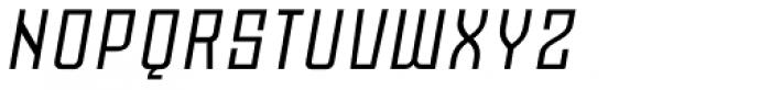 Moho Std Italic Font UPPERCASE