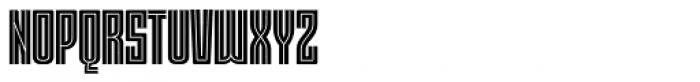 Moho Std Style Bold Font UPPERCASE