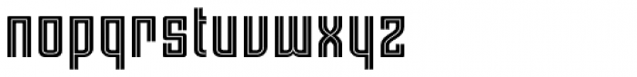 Moho Std Style Ext Font LOWERCASE