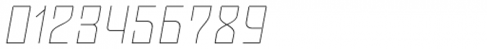 Moho Std Thin Italic Font OTHER CHARS