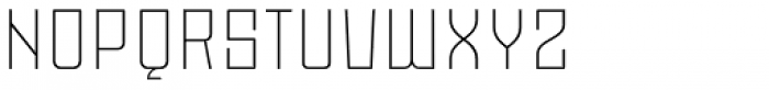 Moho Std Ultra Light Font UPPERCASE