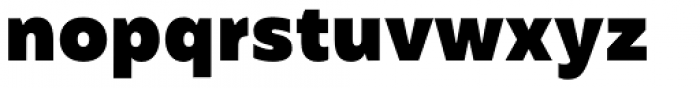 Mohr Black Font LOWERCASE