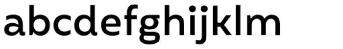 Mohr Medium Font LOWERCASE