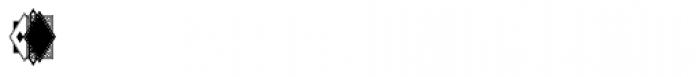 Moissanite Monogram (1000 Impressions) Font OTHER CHARS