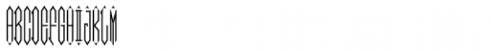 Moissanite Monogram (10000 Impressions) Font UPPERCASE