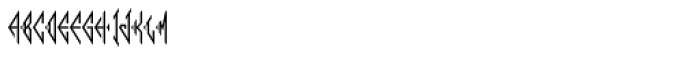 Moissanite Monogram (250 Impressions) Font LOWERCASE