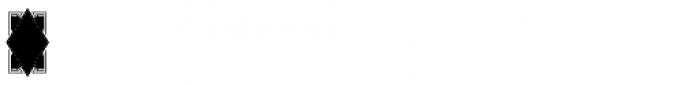 Moissanite Monogram (25000 Impressions) Font OTHER CHARS