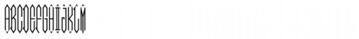 Moissanite Monogram (25000 Impressions) Font UPPERCASE