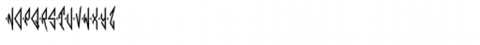 Moissanite Monogram (25000 Impressions) Font LOWERCASE