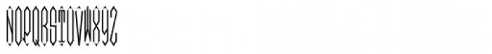 Moissanite Monogram Center (1000 Impressions) Font LOWERCASE