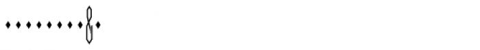 Moissanite Monogram Center (10000 Impressions) Font OTHER CHARS
