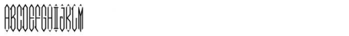 Moissanite Monogram Center (10000 Impressions) Font UPPERCASE