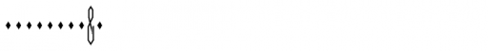 Moissanite Monogram Center (25000 Impressions) Font OTHER CHARS