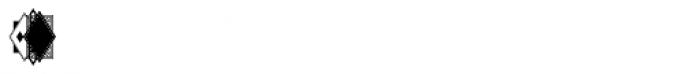 Moissanite Monogram Sides (1000 Impressions) Font OTHER CHARS