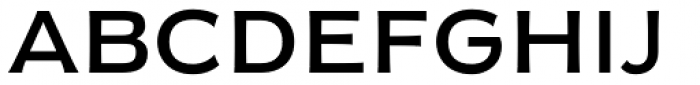 Moister Regular Font UPPERCASE