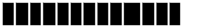 Moja B Font UPPERCASE