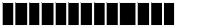 Moja B Font LOWERCASE