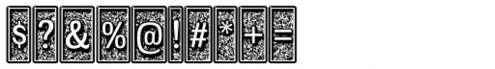 Moja Font OTHER CHARS