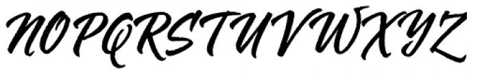 Mojito Rough Font UPPERCASE