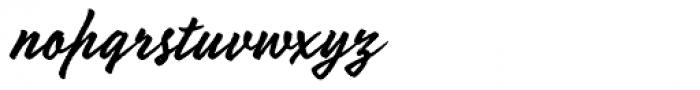 Mojito Rough Font LOWERCASE