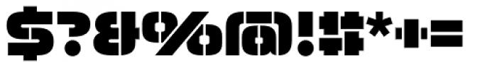 Moki Cut Font OTHER CHARS
