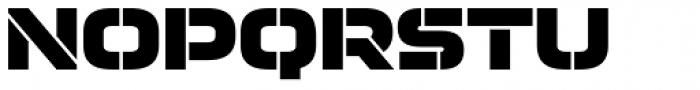 Moki Cut Font UPPERCASE