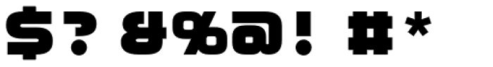 Moki Mono Font OTHER CHARS